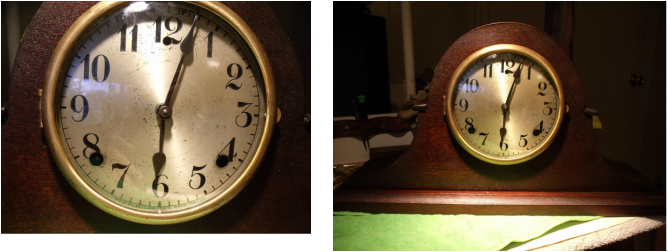 Glibert Mantle Clock
